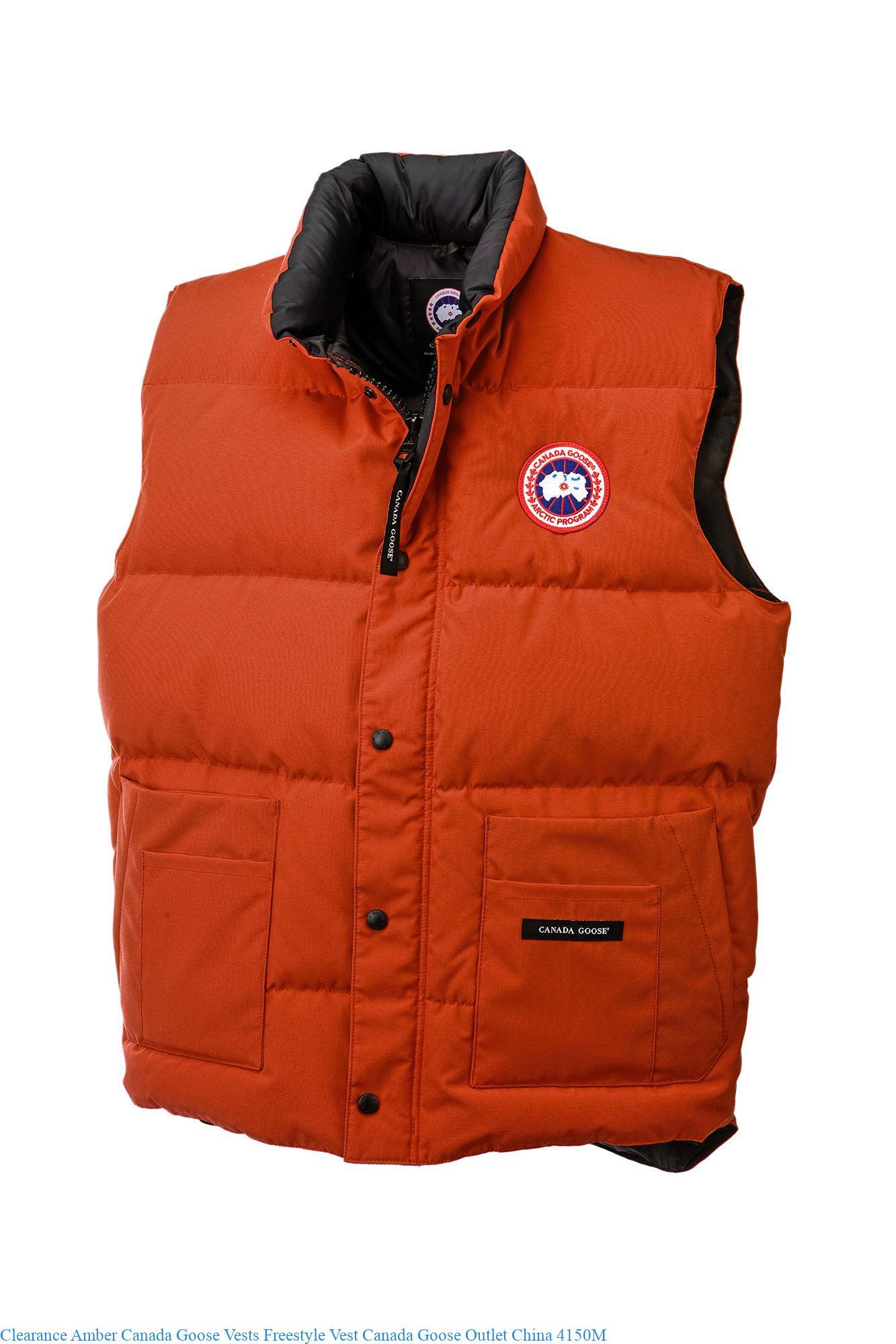 canada goose vest on sale